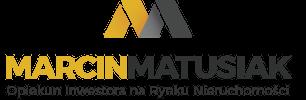 Marcin Matusiak - Opiekun Inwestora na Rynku Nieruchomości